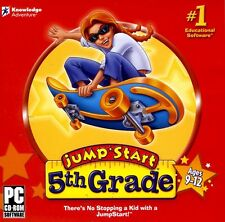 JUMPSTART 5TH GRADE for PC XP/VISTA/7 SEALED NEW
