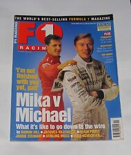 F1 RACING NOVEMBER 1998 - GRAND PRIX ACTION - LUXEMBOURG