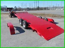 NEW 82x20 20' electric hydraulic tilt CAR hauler Hawke power up n down 10k GVWR
