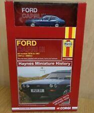 Corgi CC03003 Haynes Miniature History Ford Capri MkIII Model and Book