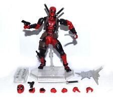 "Marvel X-Men Deadpool Wade Wilson Revoltech No.001 6"" Loose Action Figure"
