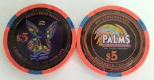 $5 Las Vegas Palms 4th Anniversary Playboy Casino Chip - UNCIRCULATED
