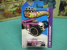 2013 hot wheels bone shaker pink