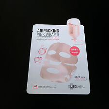 MEDIHEAL Airpacking Pink Wrap Mask Firming Vital Complex Glowing Wrinkle Care
