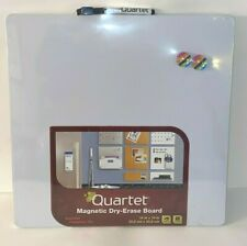 Four Quartet Magnetic Whiteboard14 X 14 Dry Erase Board Withmarker 2 Magnets New