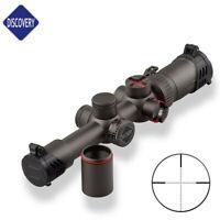 DISCOVERY WG 1.2-6X24IRAI Illuminated Hunting Rifle Scope Sight for Air Gun