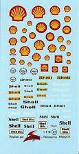 Decalbogen Shell 1:43 (062)