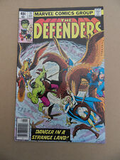 Defenders 71 . Origin Lunatik . Marvel 1979 . VF