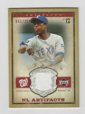Alfonso Soriano Nationals 2006 NL Artifacts Red Jersey #NL-AS 51/250