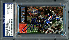 WALTER PAYTON AUTOGRAPHED SIGNED PHONE CARD CHICAGO BEARS PSA/DNA 60891