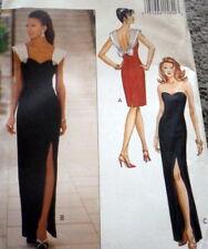 LOVELY VTG EVENING DRESS BUTTERICK Sewing Pattern 12/34