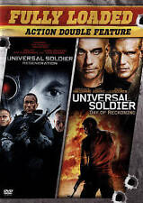 FULLY LOADED Double DVD Universal Soldier Day of Reckoning & Regeneration NEW