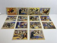 Complete Set Of 1997 The Lone Ranger TWELVE UNPUBLISHED W Rare Card 992/2600