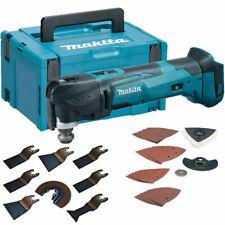 Makita DTM51ZJX7 18V LXT Multi Tool With Case & Extra 8pcs Accessories Kit