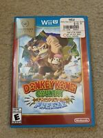 Donkey Kong Country: Tropical Freeze (Nintendo Wii U, 2014) Authenic and Tested