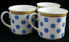 Villeroy & Boch TWIST ANNA 3 Breakfast Cups VERY GOOD CONDITION