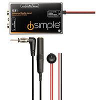iSimple Universal Radio Antenna Input FM Modulator for OEM or Aftermarket Radios