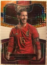 2017-18 Panini Select Soccer Sergio Ramos Spain Terrace Multi-Color Parallel