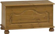 Steens Richmond Solid Pine Ottoman Blanket Box Toy Chest