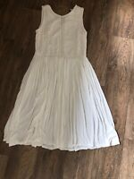 White Summer Dress Next 10 Easy Care Pretty Holiday