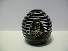 NOUROT STUDIOS BEEHIVE STYLE PAPERWEIGHT 1994 LIMITED EDITION 140/150 EXCELLENT!
