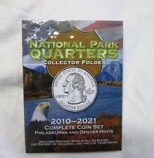 NATIONAL PARK QUARTERS COLLECTOR FOLDER  PHILADELPHIA & DENVER   ATB