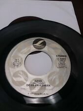 45 Record Dean Friedman Ariel/Funny Papers VG+