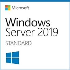 Windows Server 2019 Standard | 16 Core | Full License - Retail COA & 25 USER CAL