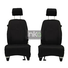 Jeep Compass Facelift Front Inka Tailored Waterproof Seat Cover Black MY11-16