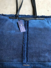 Rebecca Minkoff Lightweight Denim Tote with Leather Straps - NWT!!!
