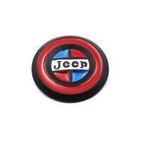 3D LOGO Emblem Badge Metal Round Sticker Car Auto Front Grille Nameplate OEM