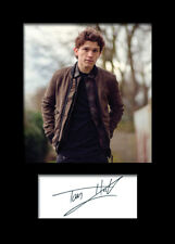 TOM HOLLAND #2 A5 Signed Mounted Photo Print - FREE DELIVERY