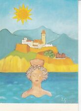 Ingeborg Gauger Pintura Naif Postcard Unused VGC