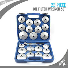 New 23pcs Cup Type Oil Filter Wrench Tool Set Removal Socket Kit Automotive Shop