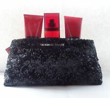Victoria's Secret Very Sexy Fragrance 3 piece Must Have Clutch Bag/ NEW