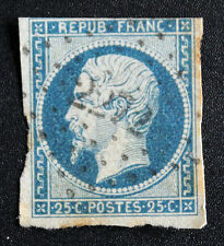 Timbre de FRANCE / FRENCH Stamp - Yvert et Tellier n°10 obl 2è choix (Cyn21)