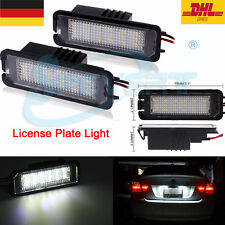 LED Kennzeichen Beleuchtung Nummernschildbeleuchtung FÜR VW GOLF Passat Porsche