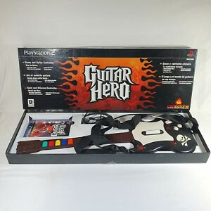 Guitar Hero PlayStation 2 - Boxed With Game Guitar & Guitar Strap  - TESTED