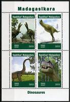 Madagascar 2019 CTO Dinosaurs 4v M/S Dinosaures Prehistoric Animals Stamps