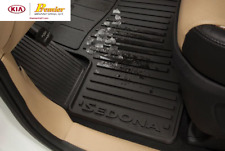 2015-CURRENT KIA SEDONA NEW OEM ALL WEATHER FLOOR MATS   A9013 ADU02