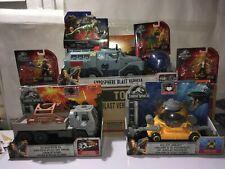 Jurassic World Rescue Rig , Blast Vehicle , Submarine, Owen, Claire,T-rex look
