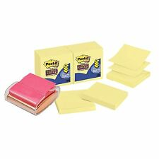 POST-IT® Pop-Up Clear Notes Dispenser + 16 packs Z-Note Refills. (1440 Notes)