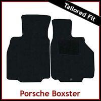 Porsche Boxster 986 1996-2004 Tailored Carpet Car Floor Mats BLACK