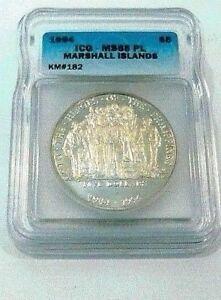 1994 HEROES OF THE PHILIPPINES MARSHALL ISLANDS MAC ARTHUR MS PROOF LIKE