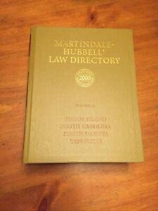 Martindale-Hubbell Law Directory Rhode Island South Carolina South Dakota TN