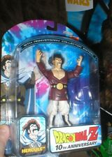 DRAGONBALL Z HERCULE FROM THE 10TH ANNIVERSARY SERIES, NEVER OPENED.