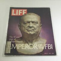 VTG Life Magazine: April 9 1971 - Emperor of the FBI: 47 yr Reign J Edgar Hoover
