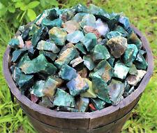 1/2 lb Bulk Lot Natural Rough Bloodstone Raw Rock Stone (Crystal Healing 8 oz)