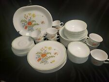 Vintage Corelle Expressions Wildflower *Huge lot, 90+ Pieces* Dinnerware/Serving