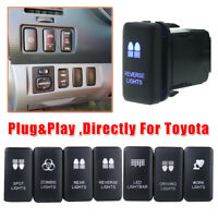 For Toyota Tacoma FJ Cruiser 4Runner Highlander LED Light Bar Switch Push Button